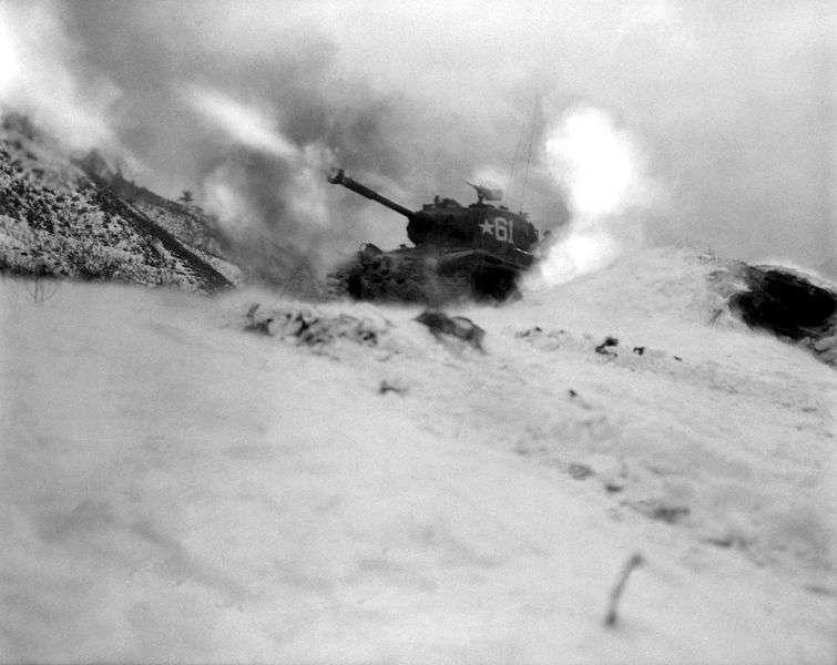 Guerra da Coreia - Tanque Norte-Americano