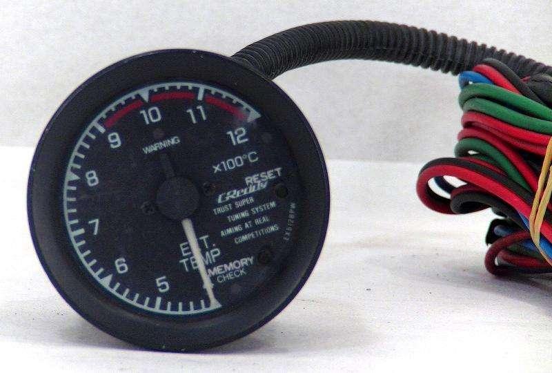TRUST Greddy 60mm EGT gauge 180sx S13 R32 R33 R34 Supra Cosworth