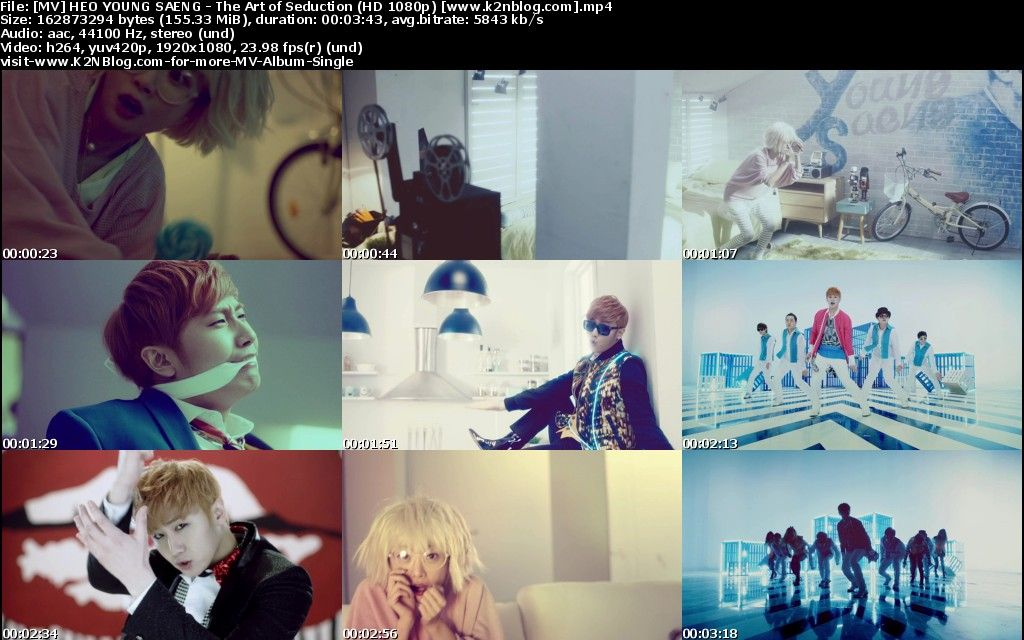 [MV] HEO YOUNG SAENG   The Art of Seduction [HD 1080p Youtube]