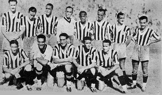 Botafogo Tetracampeão Carioca em 1935