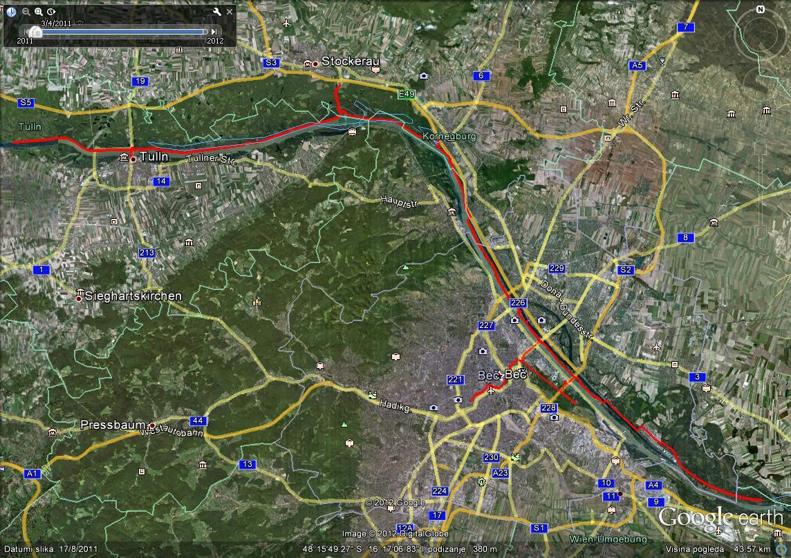 Wien-Korneuburg-Stockerau-Tulln_and_back-182km