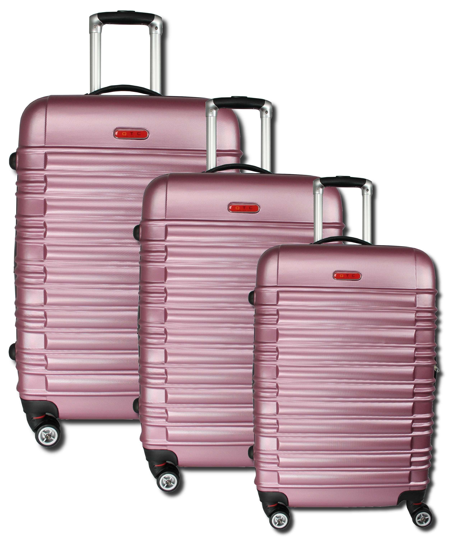 abs hartschalen reisekoffer hartschalenkoffer trolley set. Black Bedroom Furniture Sets. Home Design Ideas