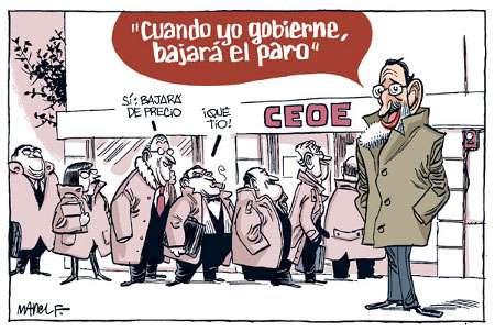 Rajoy miente